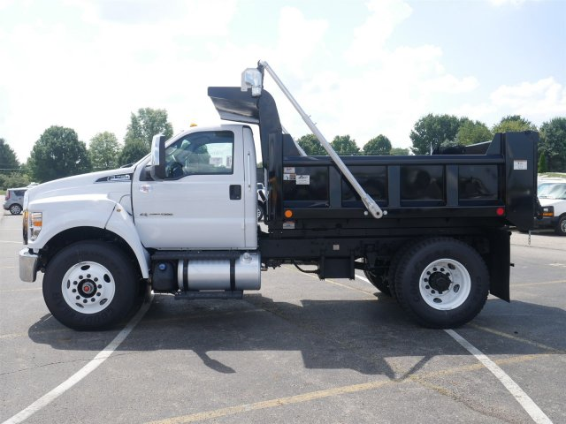 2019 F-750 Regular Cab DRW 4x2,  Rugby Dump Body #FTK1246 - photo 5