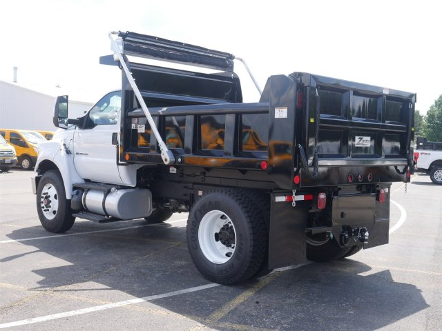 2019 F-750 Regular Cab DRW 4x2,  Rugby Dump Body #FTK1246 - photo 2