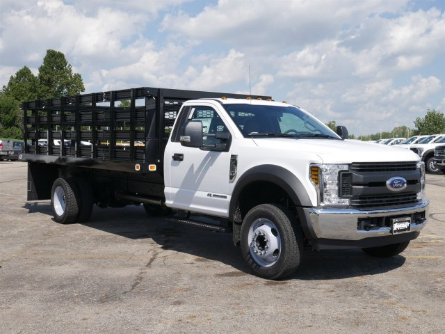 2019 F-550 Regular Cab DRW 4x2,  Knapheide Stake Bed #FTK1320 - photo 3