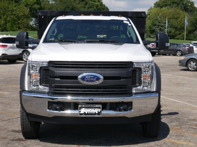 2019 F-550 Regular Cab DRW 4x2,  Knapheide Stake Bed #FTK1320 - photo 4