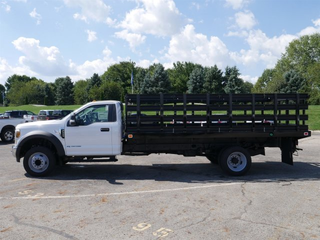 2019 F-550 Regular Cab DRW 4x2,  Knapheide Stake Bed #FTK1320 - photo 5
