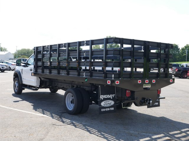 2019 F-550 Regular Cab DRW 4x2,  Knapheide Stake Bed #FTK1320 - photo 2
