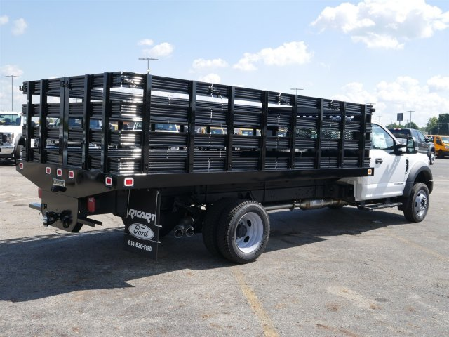 2019 F-550 Regular Cab DRW 4x2,  Knapheide Stake Bed #FTK1320 - photo 7