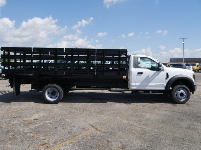 2019 F-550 Regular Cab DRW 4x2,  Knapheide Stake Bed #FTK1320 - photo 8
