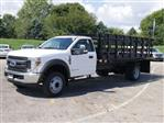 2019 F-550 Regular Cab DRW 4x2,  Knapheide Stake Bed #FTK1320 - photo 1