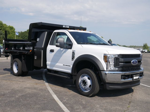 2019 F-550 Regular Cab DRW 4x4,  Rugby Dump Body #FTK1350 - photo 3