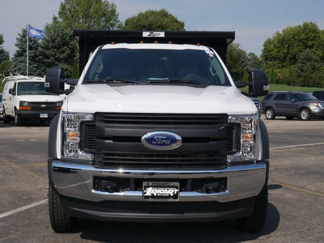 2019 F-550 Regular Cab DRW 4x4,  Rugby Dump Body #FTK1350 - photo 4