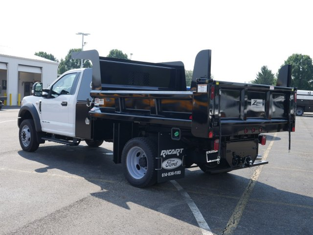 2019 F-550 Regular Cab DRW 4x4,  Rugby Dump Body #FTK1350 - photo 2