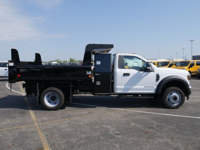 2019 F-550 Regular Cab DRW 4x4,  Rugby Dump Body #FTK1350 - photo 8