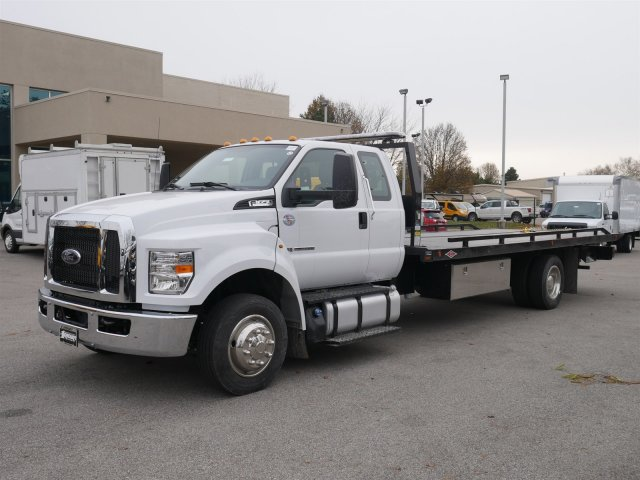 2019 F-650 Super Cab DRW 4x2,  Danco Products 12 Series Steel Rollback Body #FTK1415 - photo 1