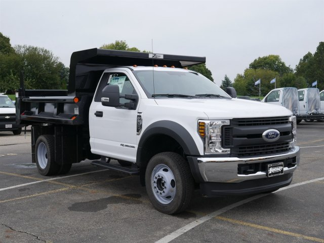 2019 F-550 Regular Cab DRW 4x4,  Rugby Dump Body #FTK1440 - photo 3