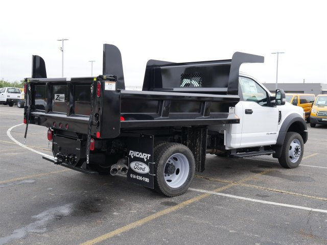 2019 F-550 Regular Cab DRW 4x4,  Rugby Dump Body #FTK1440 - photo 15