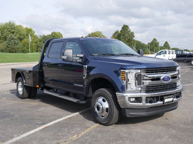 2019 F-350 Crew Cab DRW 4x4,  CM Truck Beds Platform Body #FTK1481 - photo 3