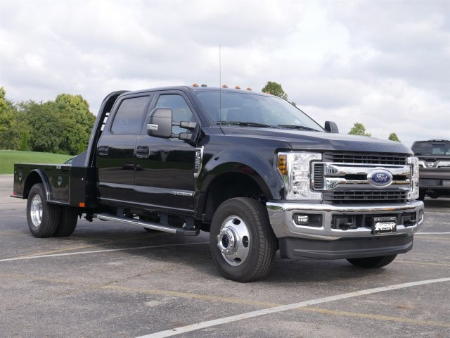 2019 F-350 Crew Cab DRW 4x4,  CM Truck Beds Platform Body #FTK1482 - photo 3