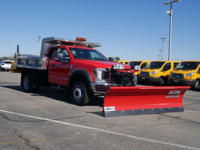 2019 F-550 Regular Cab DRW 4x4,  Rugby Dump Body #FTK1503 - photo 3
