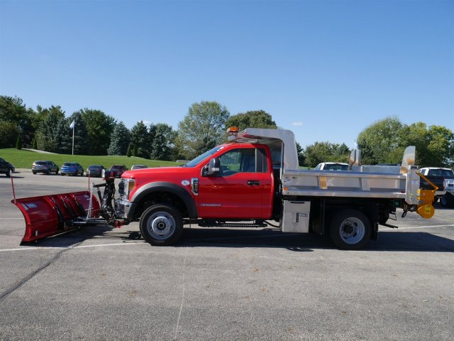 2019 F-550 Regular Cab DRW 4x4,  Rugby Dump Body #FTK1503 - photo 5