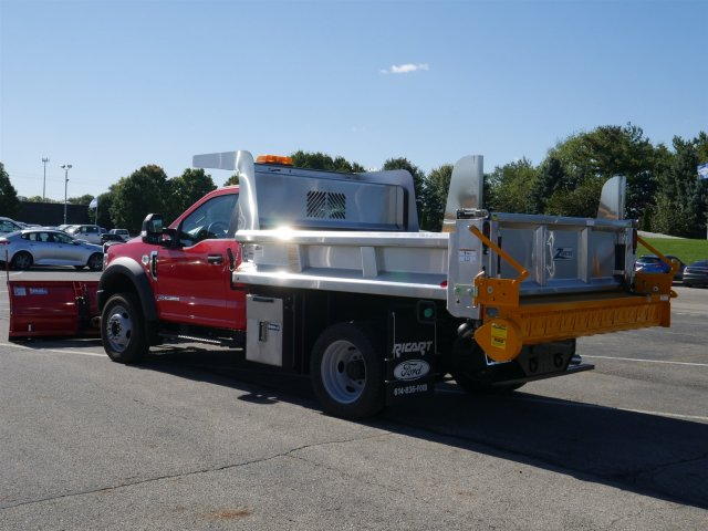 2019 F-550 Regular Cab DRW 4x4,  Rugby Dump Body #FTK1503 - photo 2
