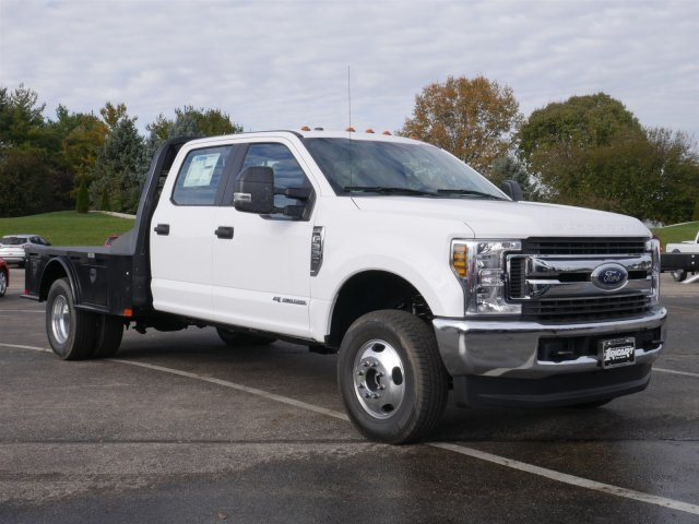 2019 F-350 Crew Cab DRW 4x4,  CM Truck Beds Platform Body #FTK1589 - photo 3