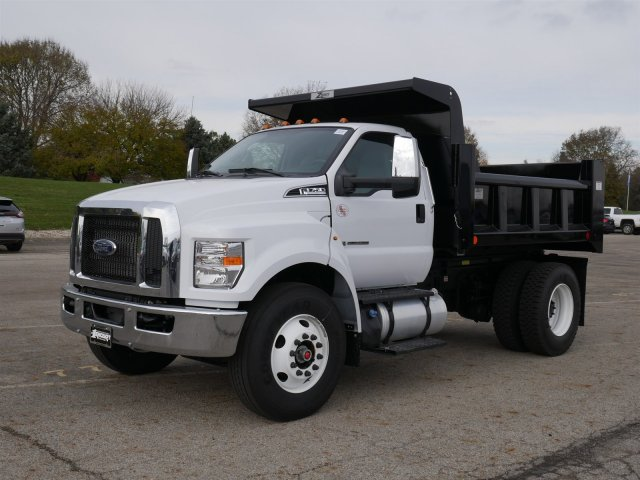 2019 F-750 Regular Cab DRW 4x2,  Rugby Titan Dump Body #FTK1663 - photo 1
