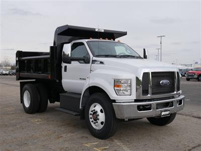 2019 F-750 Regular Cab DRW 4x2,  Rugby Titan Dump Body #FTK1663 - photo 3