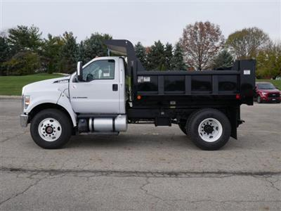 2019 F-750 Regular Cab DRW 4x2,  Rugby Titan Dump Body #FTK1663 - photo 6