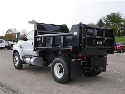 2019 F-750 Regular Cab DRW 4x2,  Rugby Titan Dump Body #FTK1663 - photo 2
