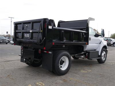 2019 F-750 Regular Cab DRW 4x2,  Rugby Titan Dump Body #FTK1663 - photo 8