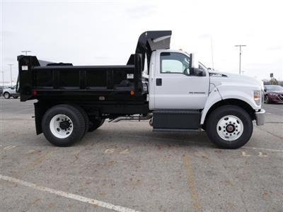 2019 F-750 Regular Cab DRW 4x2,  Rugby Titan Dump Body #FTK1663 - photo 9