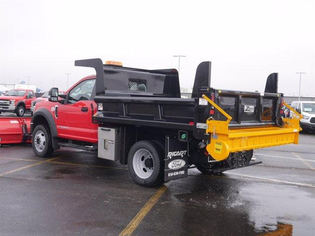 2019 F-550 Regular Cab DRW 4x4, Rugby Dump Body #FTK2571 - photo 1