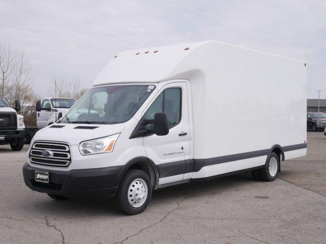 Ford Transit Cutaway >> 2019 Transit 350 Hd Drw 4x2 Unicell Aerocell Transit Cutaway Box Van Stock Ftk3161