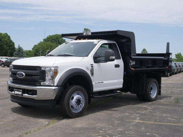 2019 F-550 Regular Cab DRW 4x4, Rugby Dump Body #FTK3692 - photo 1