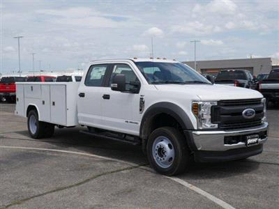 2019 F-550 Crew Cab DRW 4x4, Reading Classic II Steel Service Body #FTK3763 - photo 1
