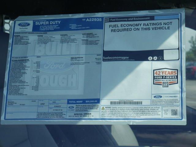 2019 Ford F-550 Regular Cab DRW 4x2, Knapheide Contractor Body #FTK3819 - photo 15