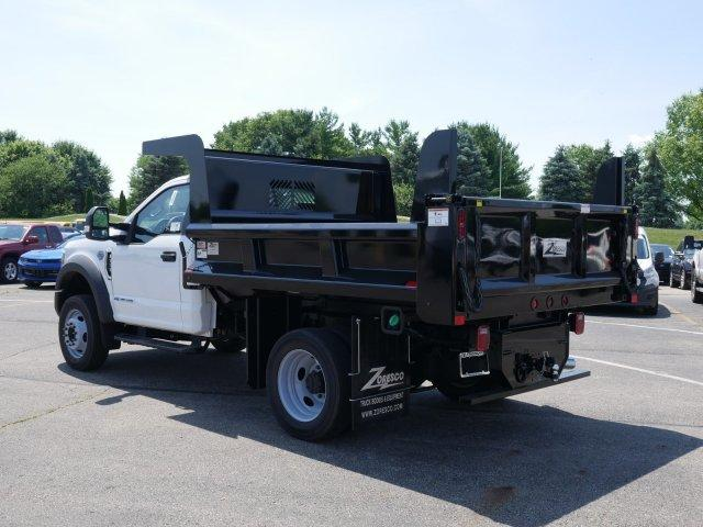 2019 F-550 Regular Cab DRW 4x4, Rugby Dump Body #FTK3841 - photo 1