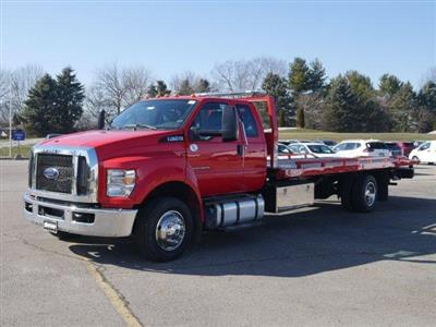2019 F-650 Super Cab DRW 4x2, Danco 12 Series Steel Rollback Body #FTK4128 - photo 1
