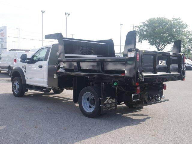 2019 F-550 Regular Cab DRW 4x4, Rugby Dump Body #FTK4148 - photo 1