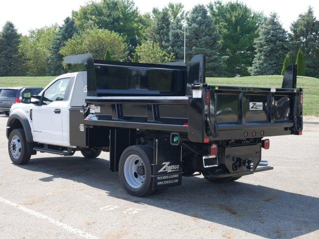 2019 F-550 Regular Cab DRW 4x4, Rugby Dump Body #FTK4458 - photo 1