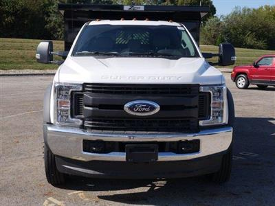 2019 Ford F-550 Regular Cab DRW 4x4, Rugby Z-Spec Dump Body #FTK4710 - photo 4