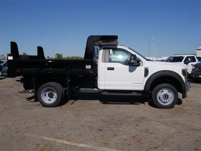 2019 Ford F-550 Regular Cab DRW 4x4, Rugby Z-Spec Dump Body #FTK4710 - photo 8