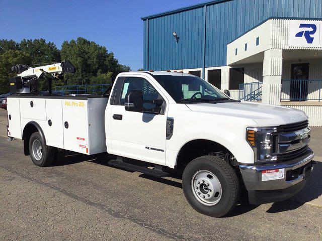 2019 Ford F-350 Regular Cab DRW 4x4, Palfinger Mechanics Body #FTK5098 - photo 1
