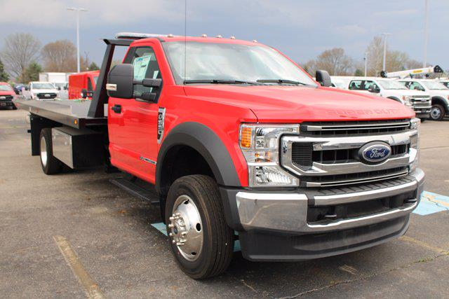 2020 Ford F-550 Regular Cab DRW 4x2, Kilar Fabrication Rollback Body #FTL2410 - photo 1