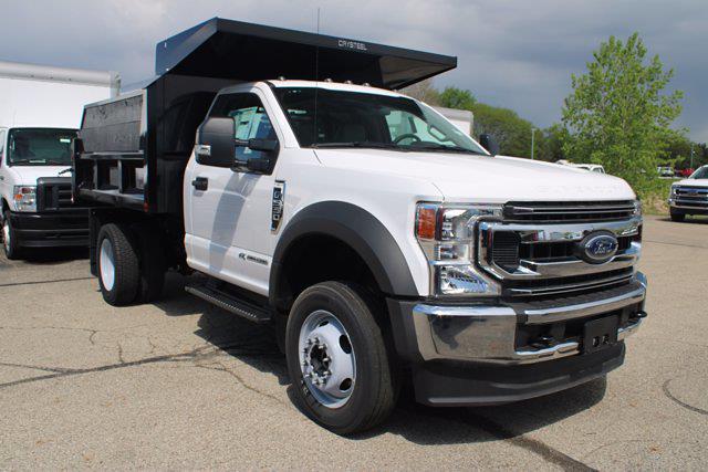 2020 Ford F-550 Regular Cab DRW 4x4, Crysteel Dump Body #FTL3247 - photo 1
