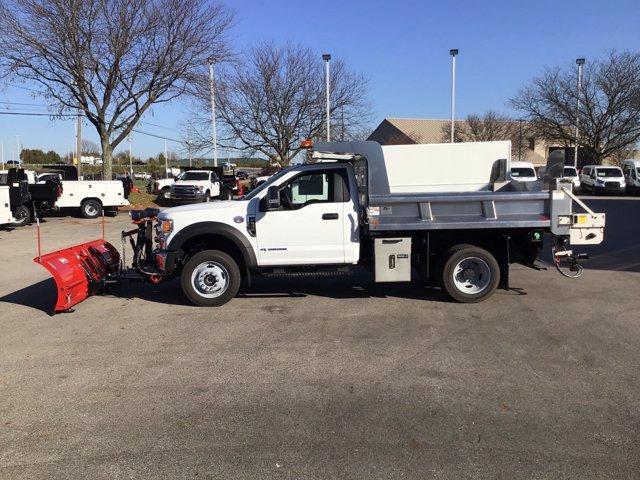 2020 Ford F-550 Regular Cab DRW 4x4, Rugby Dump Body #FTL4417 - photo 1