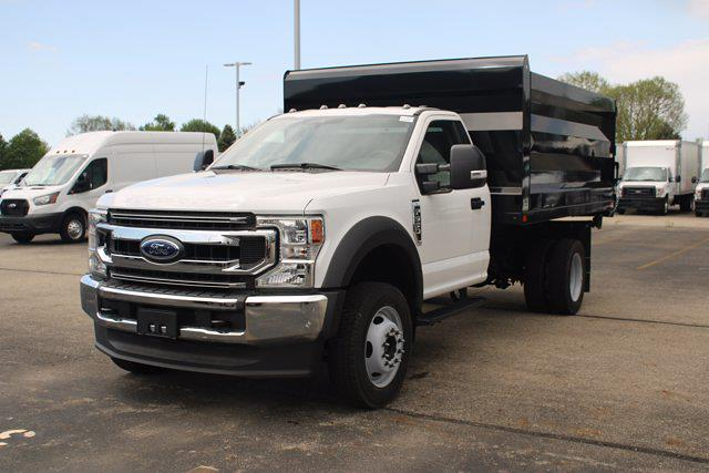 2020 Ford F-550 Regular Cab DRW 4x4, Rugby Landscape Dump #FTL4470 - photo 1