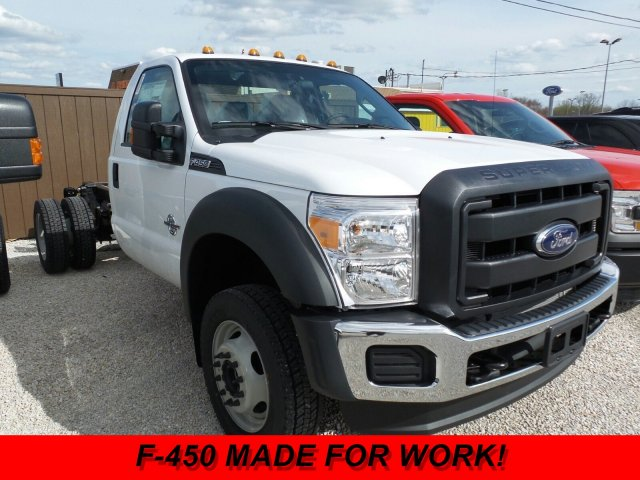 2016 F-450 Regular Cab DRW 4x4, Cab Chassis #GEC62376 - photo 3