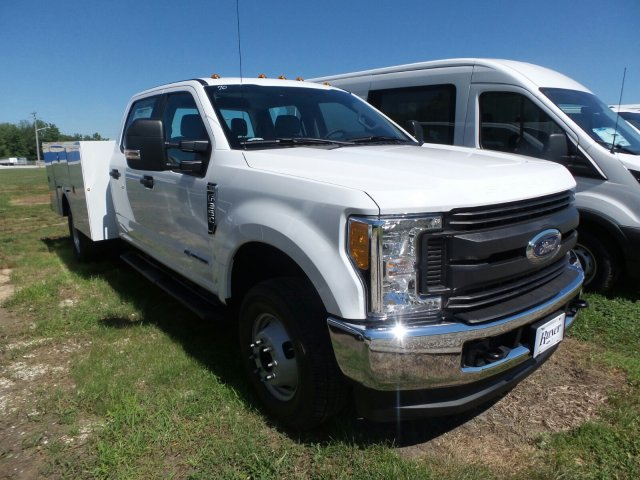 2017 F-350 Crew Cab DRW 4x4, Service Body #HED32666 - photo 3
