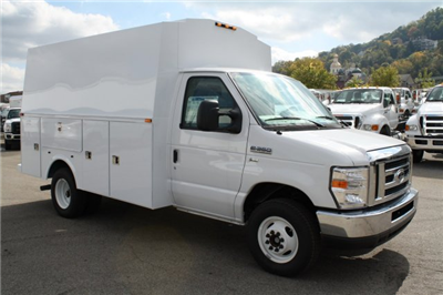 2014 E-350, Palfinger Service Utility Van #DB05733 - photo 1
