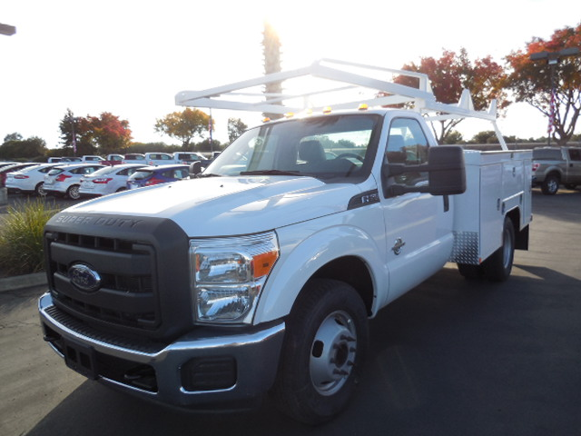 2014 F-350 Regular Cab DRW, Scelzi Contractor Body #EA27996 - photo 1