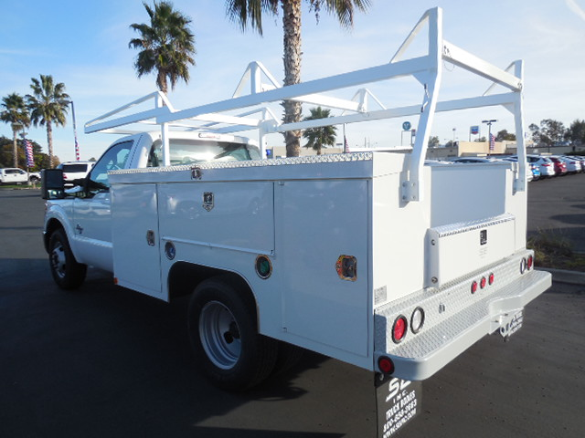 2014 F-350 Regular Cab DRW 4x2,  Scelzi Contractor Body #EA27996 - photo 2