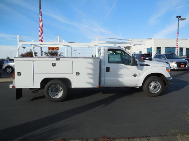 2014 F-350 Regular Cab DRW, Scelzi Contractor Body #EA27996 - photo 4